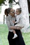 Jennifer Lopez Has a Parisian Day Out With Max, Emme, and Her Mom!