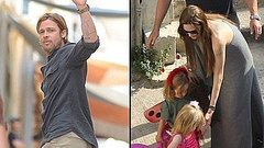 Video: Brad Pitt and Angelina Jolie Bring the Kids to Malta