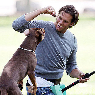 Tom Brady Pictures Shooting His Uggs Campaign