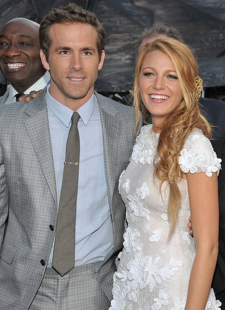 Blake Lively and Ryan Reynolds Have a Picture-Perfect Green Lantern Premiere