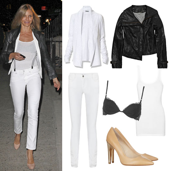 How to Wear White Jeans: Night Out