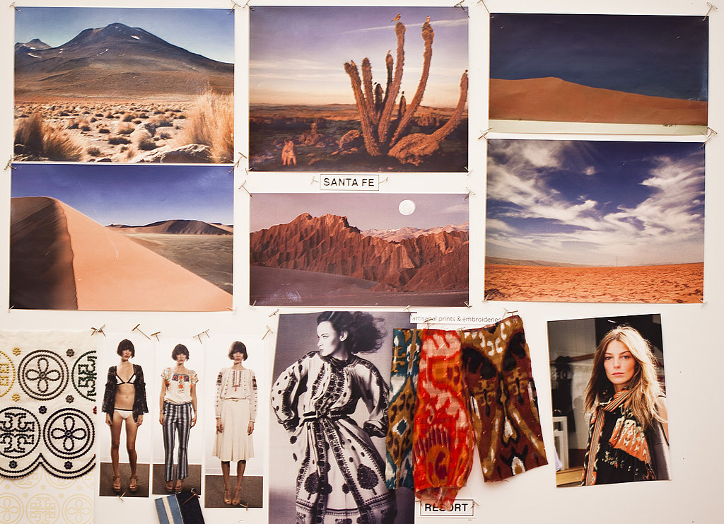 Tory Burch's Resort 2012 Inspiration Board