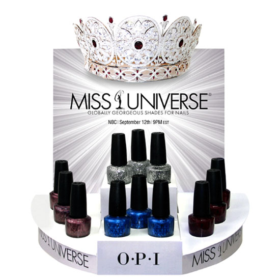 Crowning Glory: OPI Launches Miss Universe Collection