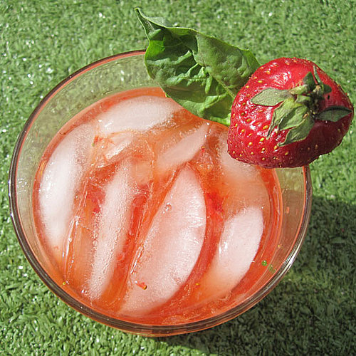 Strawberry-Basil Cocktail Recipe