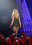 Britney Spears Kicks Off Tour With Sparkling Bikinis and a Kiss From Jason
