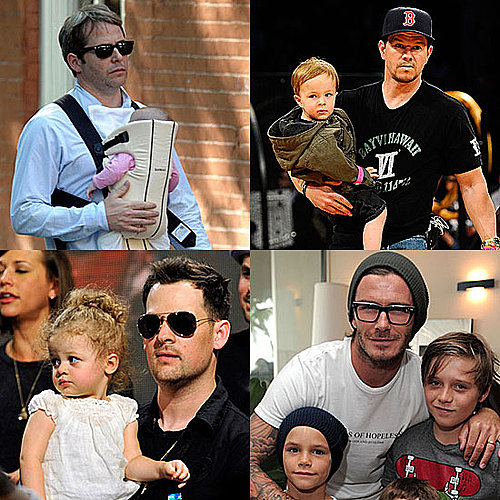 Hot Celebrity Dads Pictures