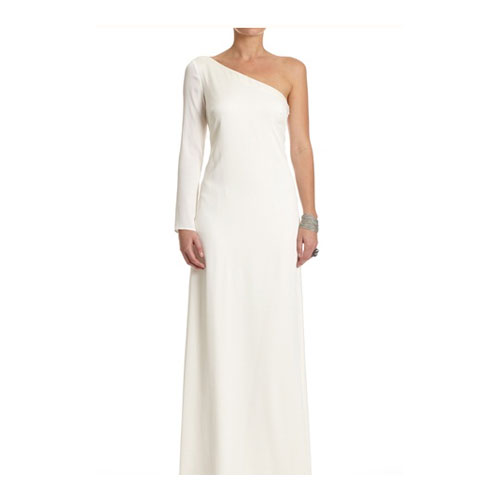 One-Shoulder Long Gown
