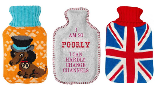 Feeling the Chill? Shop 10 Gorgeous Hot Water Bottle Covers!