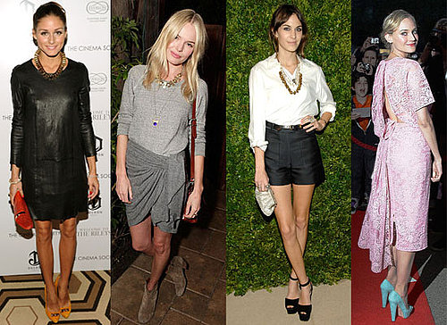 Accessorizing Style Tips from Alexa Chung, Olivia Palermo, Diane Kruger, Kate Bosworth and Ashley and Mary-Kate Olsen