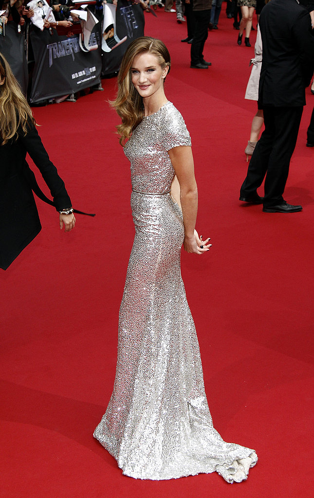Rosie Huntington-Whiteley on the red carpet in Berlin.