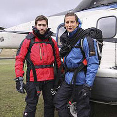 Jake Gyllenhaal With Bear Grylls on Man vs. Wild Pictures