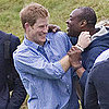 Pictures of Prince Harry at Polo Match