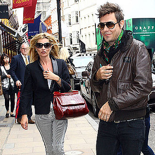 Kate Moss Shopping in London Pictures Before Her Wedding to Jamie Hince