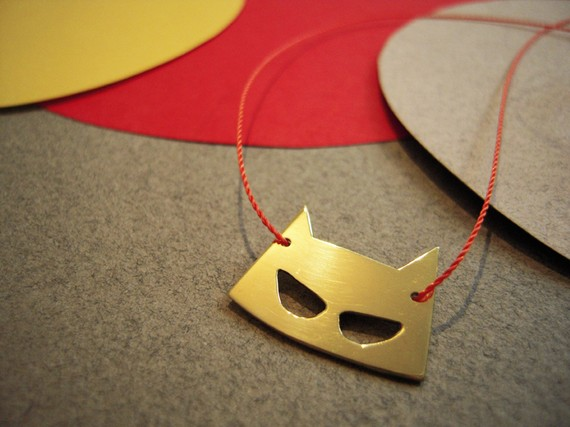 Mask Necklace ($44)