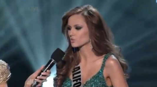 Miss California on a High After Winning Miss USA Crown With Medical Marijuana Message