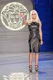 Donatella Versace in Versace for H&M