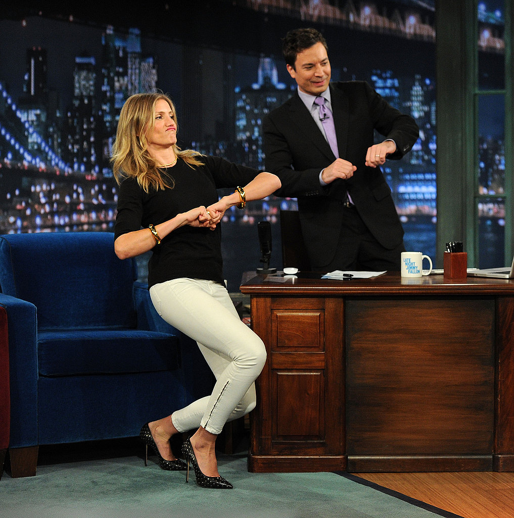 Cameron Diaz and Jimmy Fallon got down and funky.