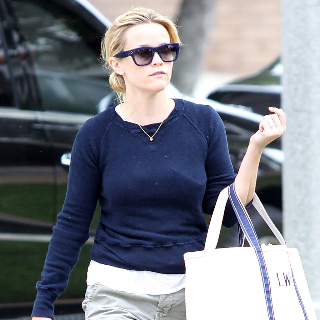 Reese Witherspoon was out solo in Pacific Palisades.