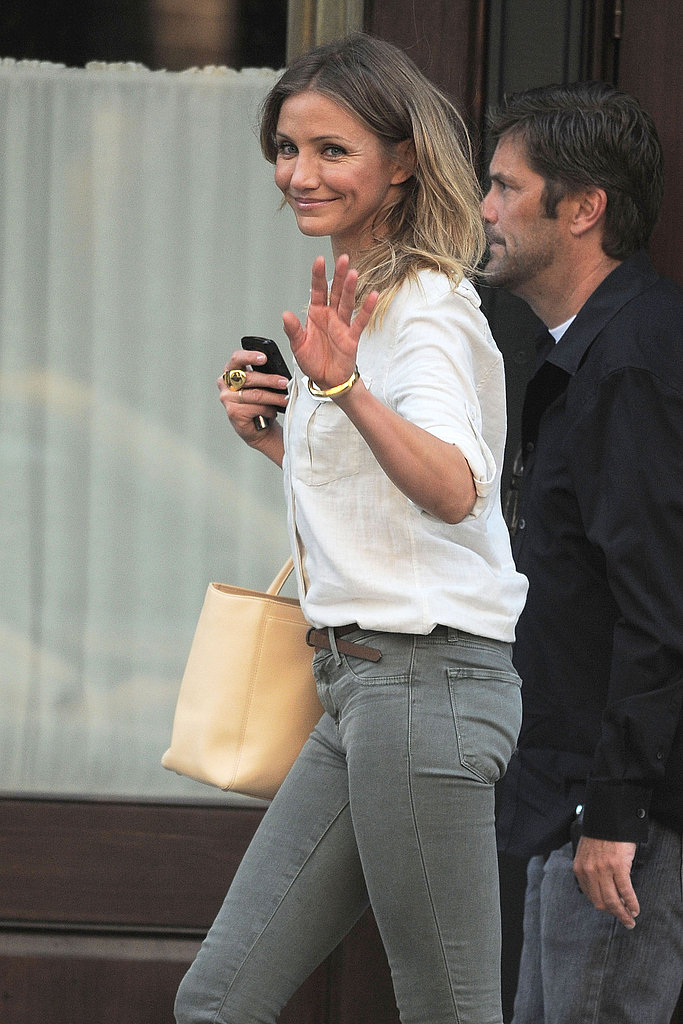 "Cameron Diaz Says She Loves ARod ""Too Much"" to Not Share Her Food With Him"