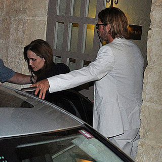 Pictures of Brad Pitt and Angelina Jolie on Date in Malta