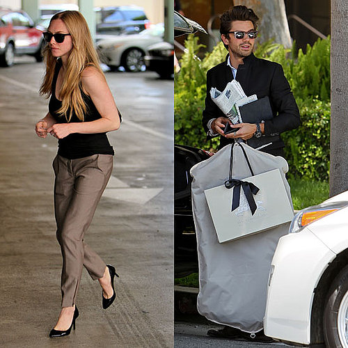 Pictures of Amanda Seyfried and Dominic Cooper Together in LA at Barneys