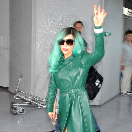 Picture It: Green-Haired Monster