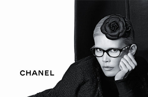 Chanel Fall 2011 Eyewear Ad Campaign with Claudia Schiffer
