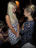 Nicole Richie and Paris Hilton at I Heart Ronson Launch