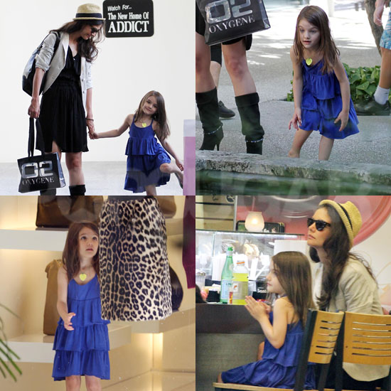 Katie Holmes and Suri Cruise Have an Adorable Afternoon Shopping in Florida!