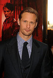 Alexander Skarsgard showed off his sexy smolder on the True Blood red carpet.