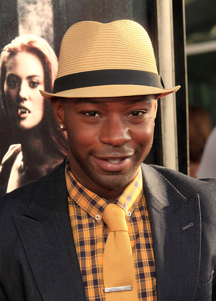 Nelsan Ellis looked dapper at the True Blood season four debut.