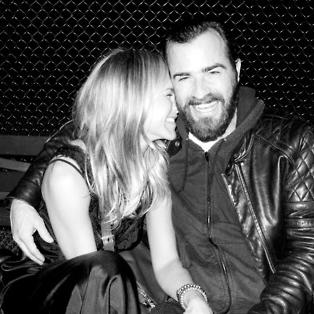 Jennifer Aniston and Boyfriend Justin Theroux Pictures From Terry Richardson