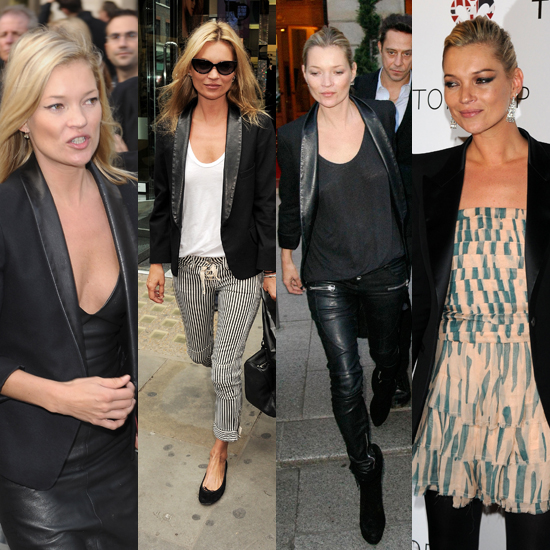 Style 101: Wear a Tuxedo Jacket Like Kate Moss