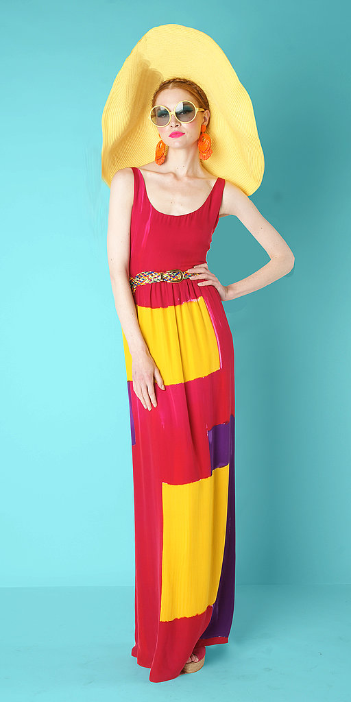 Alice & Olivia Shows Off Bold Colorblocking For Resort 2012
