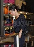 Salma Hayek shopping in LA.