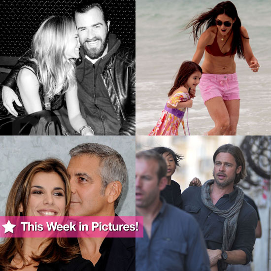George and Elisabetta Split, Jennifer Cozies Up to Justin, Katie and Suri Make a Splash, and More in This Week in Pictures!