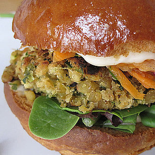 Chickpea Veggie Burger Recipe