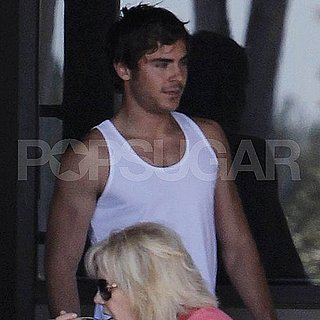 Zac Efron Showing Off His Muscles in LA