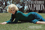 Anna Paquin posed on the grass for V Magazine.