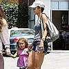 Halle Berry Pictures With Daughter Nahla at Lunch