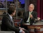 "Jason Segel and His ""Former Stomach"" Appear on David Letterman"