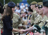 Kate Middleton and Prince William Step Out to Honor Irish Guards