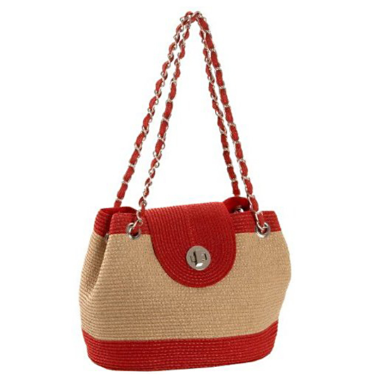 Magid Two-Tone Shoulder Bag, $62