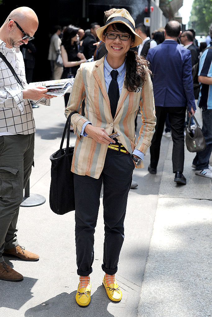 Our Favorite Lady Street Style from the Spring 2012 Men's Shows