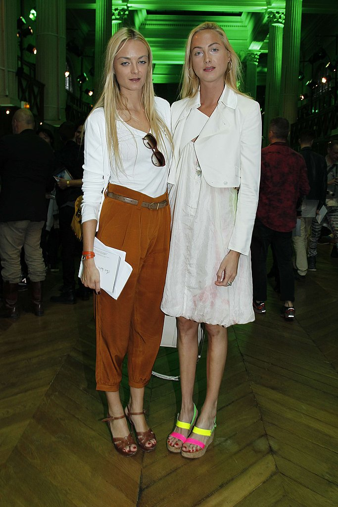 Virginie and Claire Courtin-Clarins