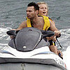 Ryan Seacrest Shirtless and Julianne Hough in a Bikini