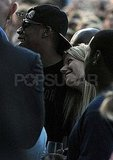 Jay-Z and Gwyneth Paltrow at Glastonbury.