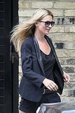 Kate Moss looked chic before her wedding.