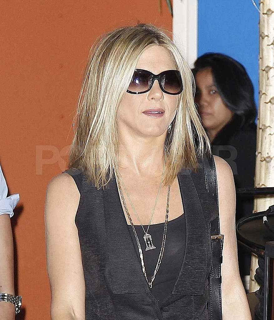 Jennifer Aniston stepped out in NYC.