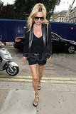 Kate Moss ran errands in London before her wedding.